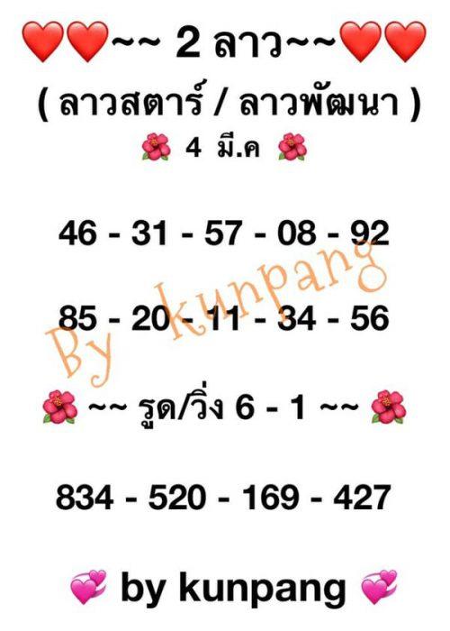 แนวทางหวยลาว4-3-64-ruayvip2